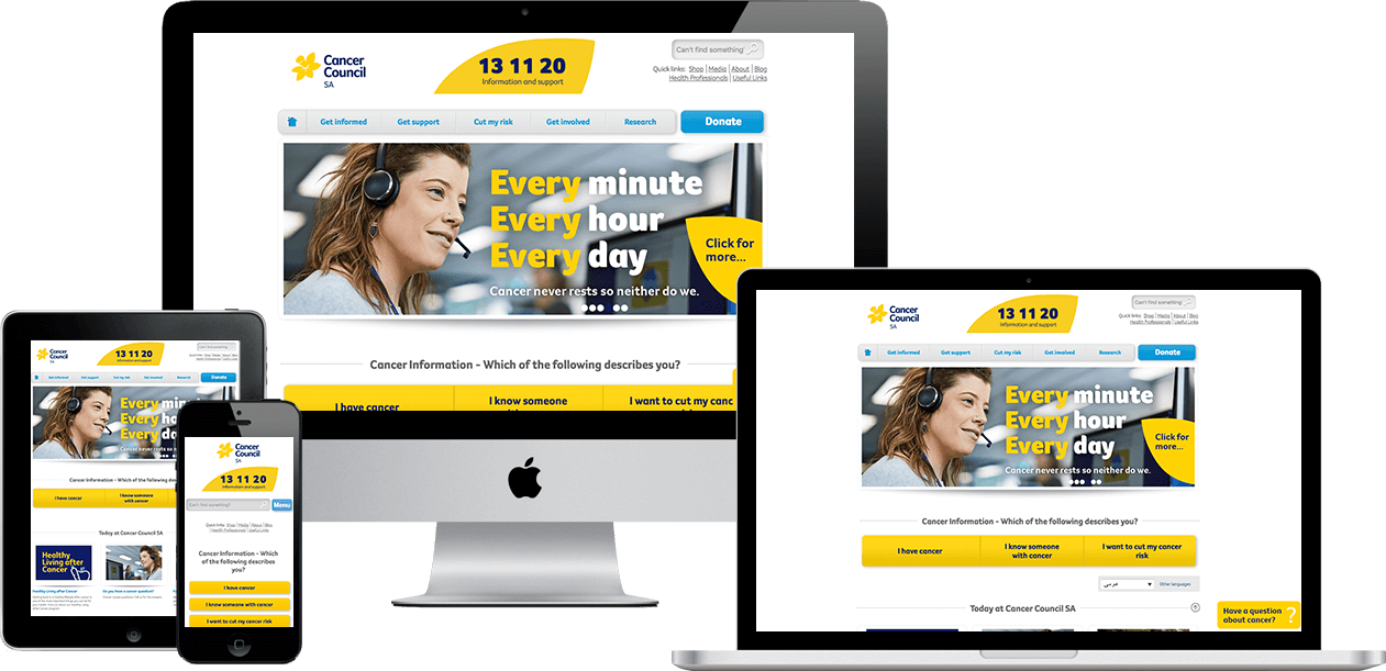 Visit the Cancer Council SA Website